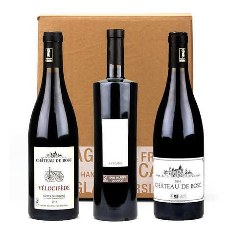 Château de Bosc - Box 3 vins sans sulfites, bio et vegan Château de Bosc