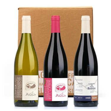 Box 3 vins bio sans sulfites du domaine Breton