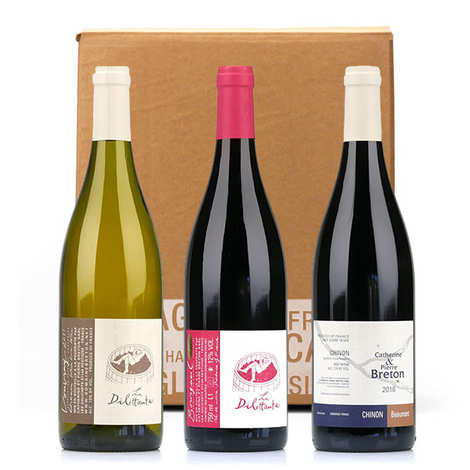 Domaine Catherine et Pierre Breton - Domaine Breton 3 Wines without sulfites Box