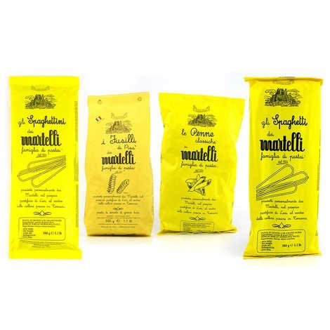 Pâtes Martelli - Assortiment pâtes italiennes Martelli