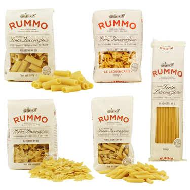 Offre premium pâtes italiennes Rummo
