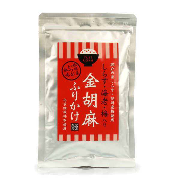 Gold Sesame, Shirasu Anchovy, Amiebi Shrimp Furikake