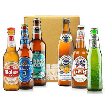 - Box découverte de 6 bières d'Europe (février)