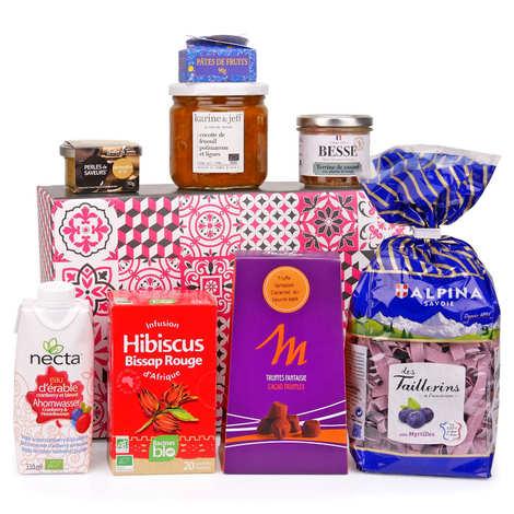 - Box découverte spéciale saveurs d'hiver (février)