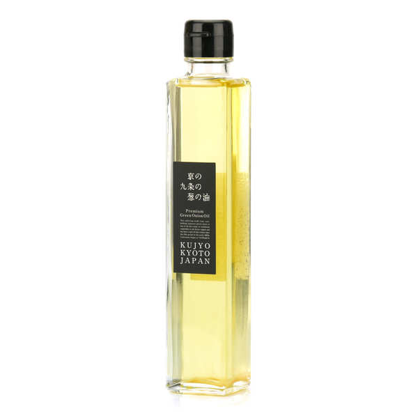 Rapeseed Oil with Kujyo Negi Spring Onion