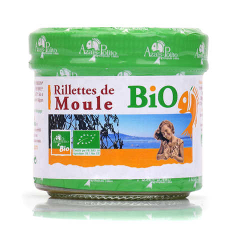 Azaïs-Polito - Rillettes de Moules bio
