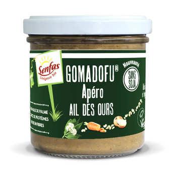 Senfas - Gomadofu® à l'ail des ours bio - Tartinable à base de sésame