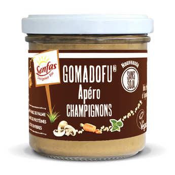 Senfas - Gomadofu® aux champignons bio - Tartinable à base de sésame