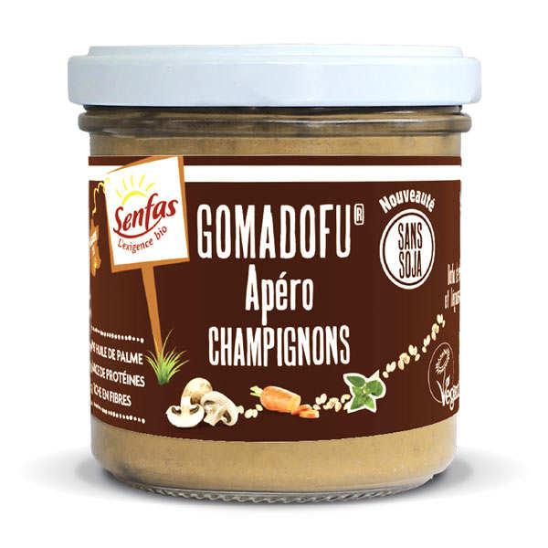 Gomadofu® aux champignons bio - Tartinable à base de sésame