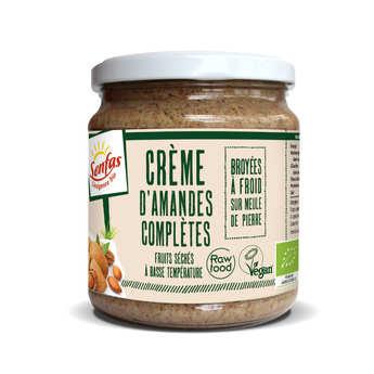 Senfas - Organic Whole Almonds Cream