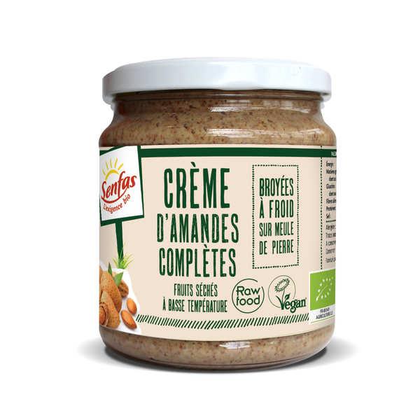 Organic Whole Almonds Cream