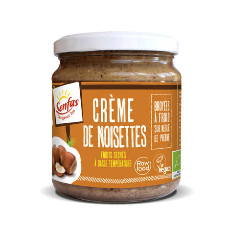 Senfas - Organic Hazelnuts Cream