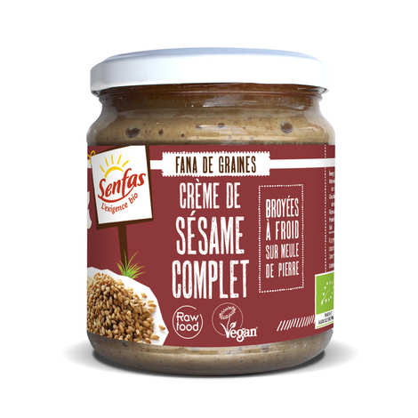 Senfas - Organic Whole Sesame Cream