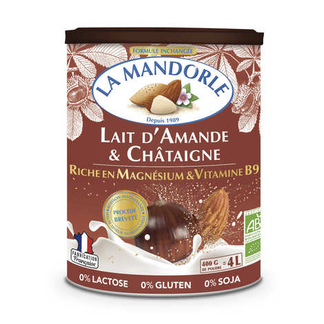 La Mandorle - Organic Almond Drink with Chestnut in Powder
