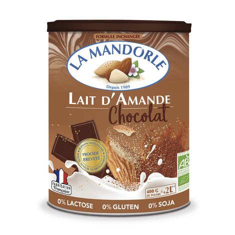 La Mandorle - Lait d'amande au chocolat en poudre bio