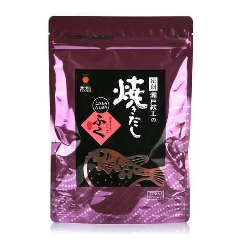Nishikidôri - Yakidashi kaki - bouillon dashi au fugu