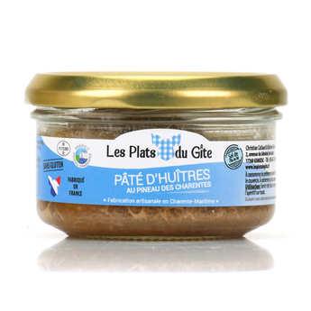 Les plats du Gîte - Pâté d'huîtres au pineau