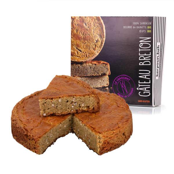 Gâteau de voyage breton 100% sarrasin - Keryoun