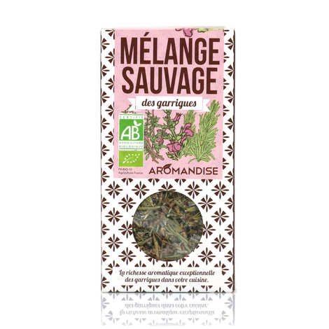 Aromandise - Mélange sauvage des garrigues bio