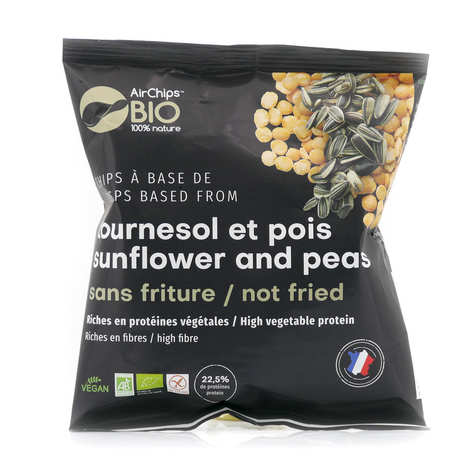 Airchips™ Bio - Chips riches en protéines sans friture bio et vegan