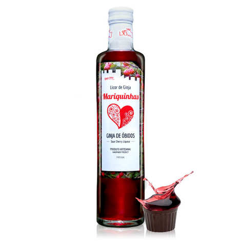 Mariquinhas - Ginja de Obidos - Sour Cherry Licor from Portugal 18%