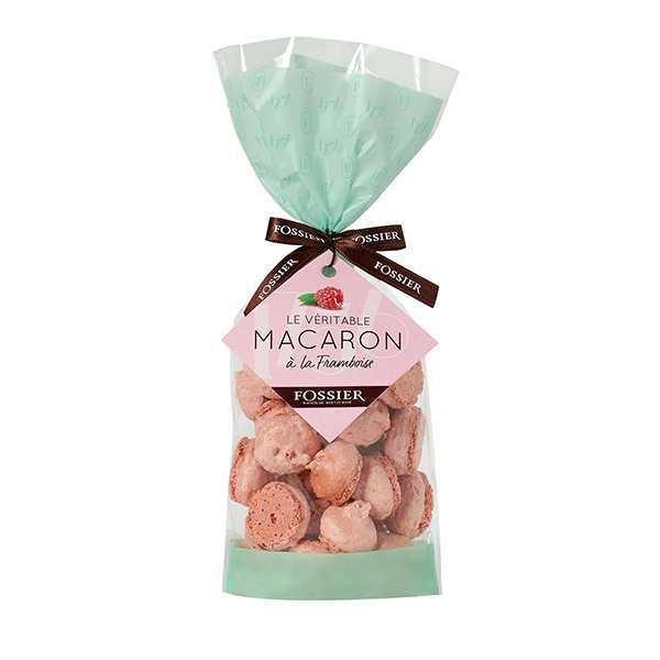 Macarons framboise - Maison Fossier