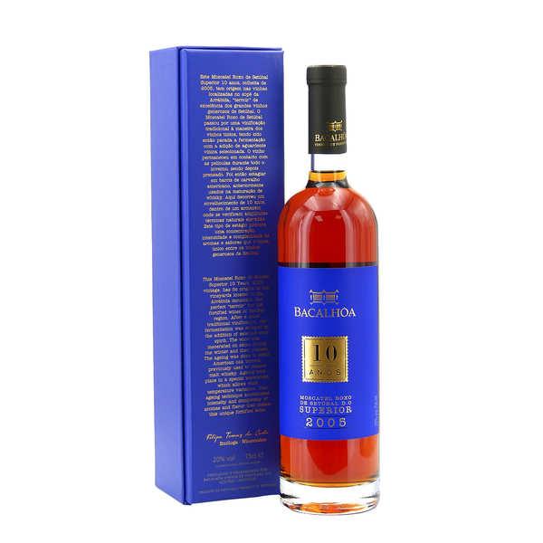 Moscatel roxo de setubal - vin doux du portugal - bouteille 75cl - 2002