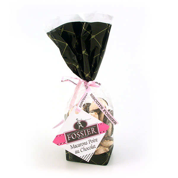 Macarons poire chocolat - Maison Fossier