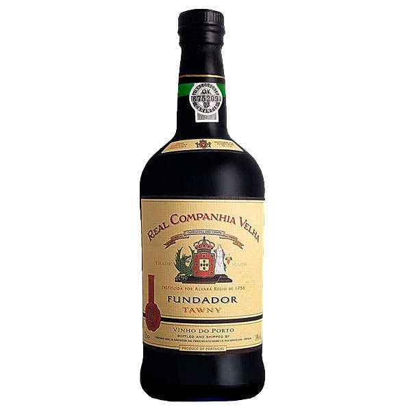 Porto rouge fundador tawny 19% - bouteille 75cl