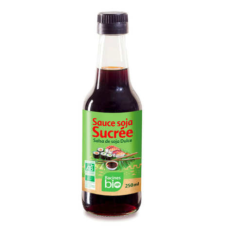 Racines - Sauce soja sucrée bio