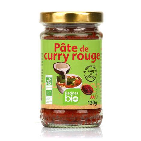 Racines - Pâte de curry rouge bio