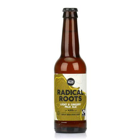 Brasserie Little Valley - Radical roots - Bière ambrée anglaise légère bio au gingembre 4%
