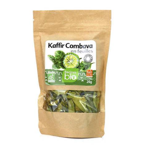 Racines - Feuilles de kaffir séchées bio