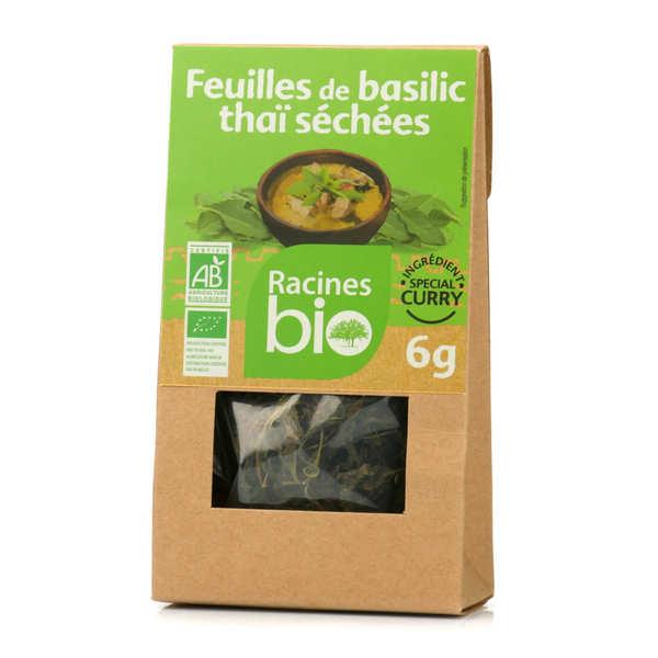 Feuilles de basilic thaï séchées bio