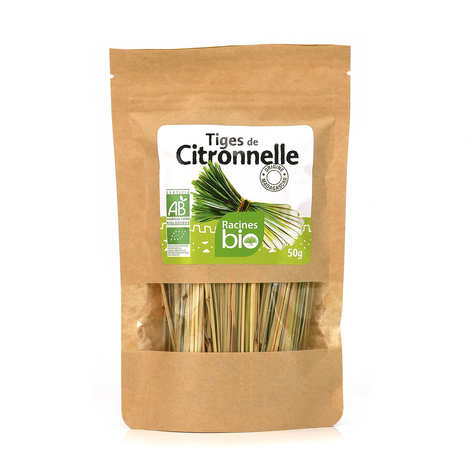 Racines - Organic Dried Stems of Lemongrass