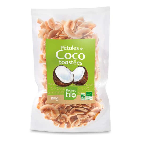 Pétales de coco toastées bio