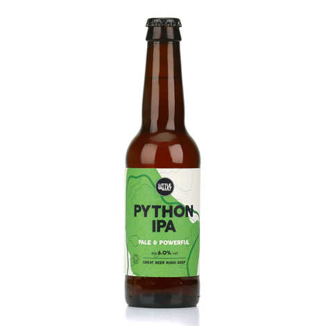 Brasserie Little Valley - Python IPA - Organic English Pale beer 6%