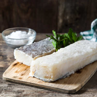 Dried and Salted White Cod from Norway