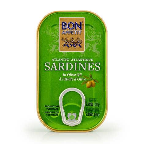 Bon Appetit - Sardines à l'huile d'olive du Portugal