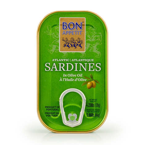 Bon Appetit - Sardines with Olive Oil from Portugal