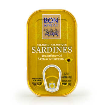 Bon Appetit - Sardines with Sunflower Oil from Portugal