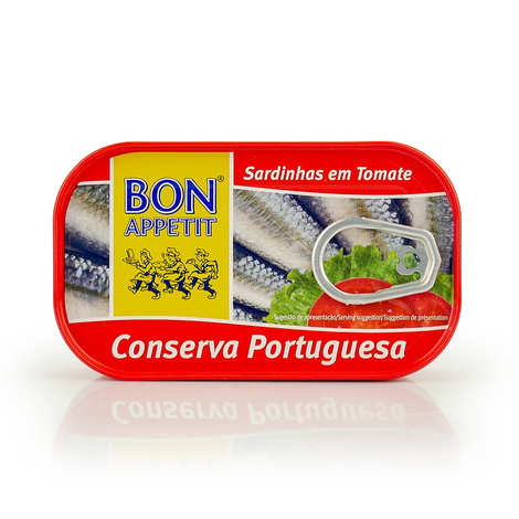 Bon Appetit - Sardines with Tomato from Portugal