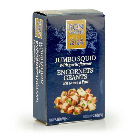 Bon Appetit - Encornets sauce à l'ail