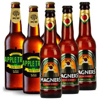 - Assortiment 6 bouteilles de cidre irlandais