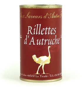 Jean Claude Aulas - Rillettes d'autruche
