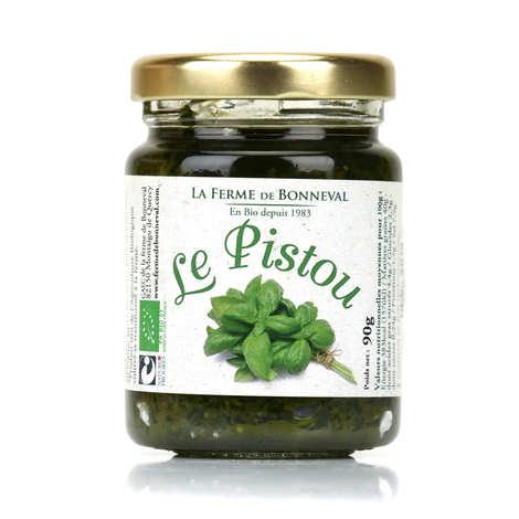 Ferme de Bonneval - Pistou - Tartinable à l'ail et au basilic bio