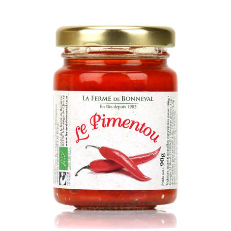 Ferme de Bonneval - Le Pimentou - Organic Spread with Chilli
