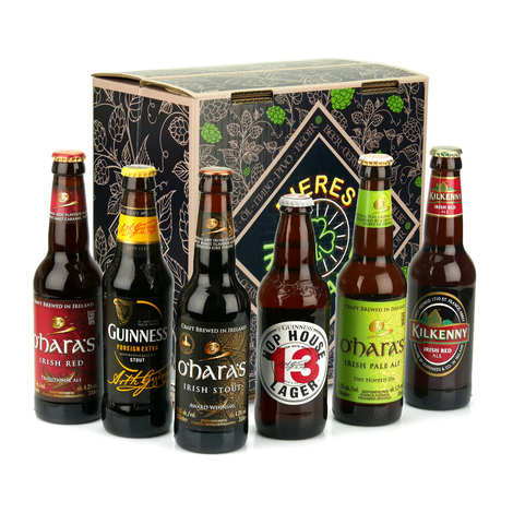 BienManger paniers garnis - Box of 6 exceptional Irish beers