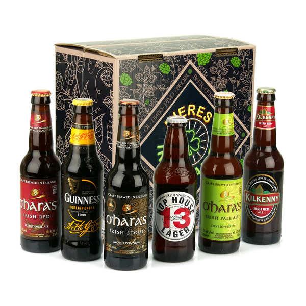 Caisse de 6 bières irlandaises d'exception