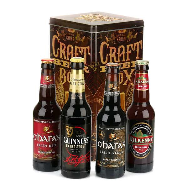 Caisse de 4 bières spéciales St Patrick